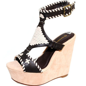 Diva Lounge-wedges-$18/pair - LABELSHOES