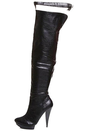 Charlotte Over The Knee Boots - LABELSHOES