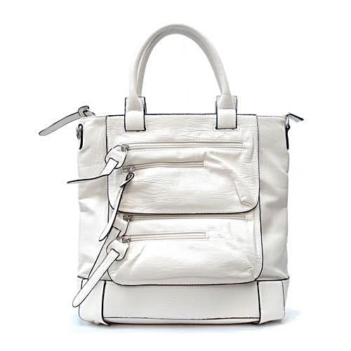 White Bag With Multipe Pockets - LABELSHOES