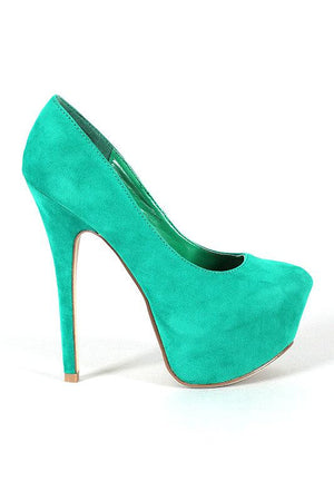 Pumps Velvet - LABELSHOES