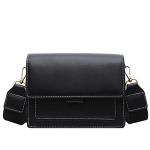 Black Boxy Crossbody Bag