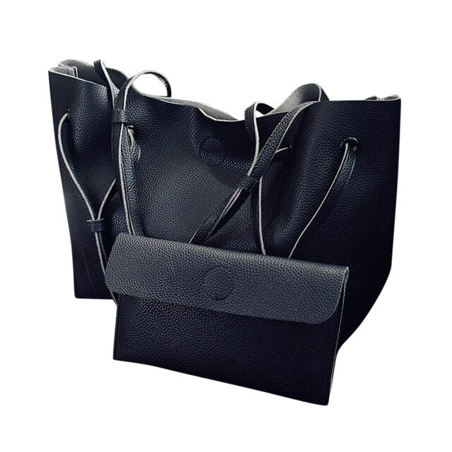 Black Shopper Bag