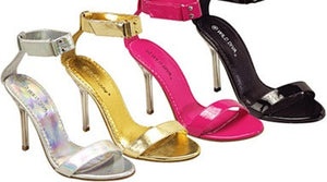 Metallic Sandals - Vanni - LABELSHOES