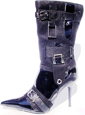Rose High Heels Boots - LABELSHOES