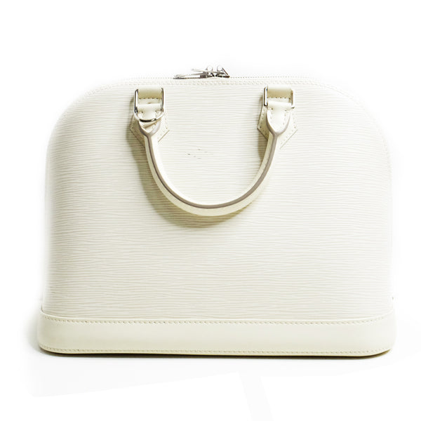 Louis Vuitton Alma Medium White - BABRA - PRELOVED LUXURY
