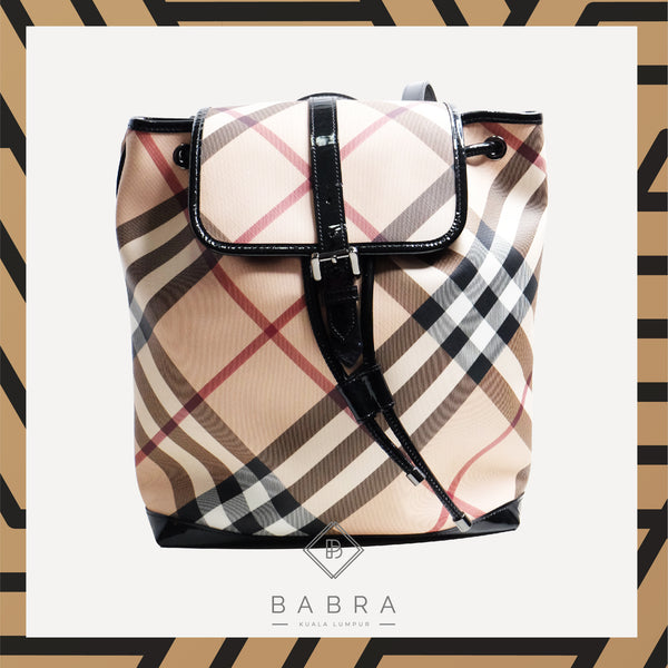 Burberry Backpack Medium - BABRA - PRELOVED LUXURY