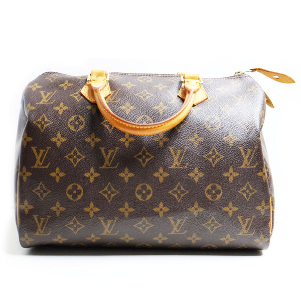 Louis Vuitton Speedy 30 monogram coated canvas - BABRA - PRELOVED LUXURY