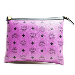 Mcm Pouch Purple - BABRA - PRELOVED LUXURY