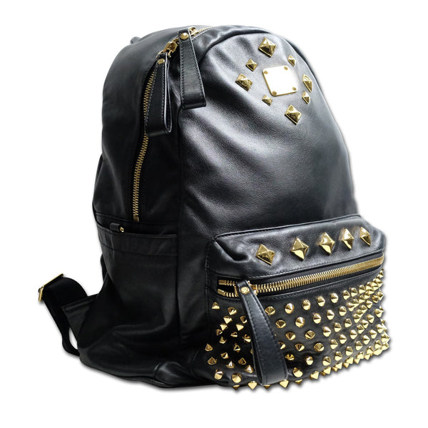 MCM Backpack Black Nappa Leather (limited edition) - babra malaysia