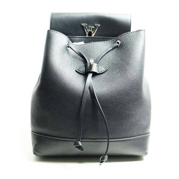 Louis Vuitton Backpack small black leather - BABRA - PRELOVED LUXURY