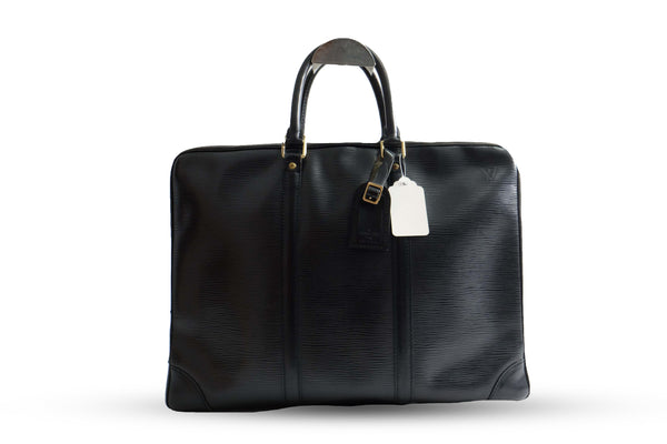 LV Briefcase EPI Leather - BABRA - PRELOVED LUXURY