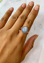 Load image into Gallery viewer, Vintage Natural Star Sapphire and 14K Gold Ring - alpha-omega-jewelry