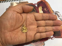 Load image into Gallery viewer, Vintage 14K Gold High Relief Ship Boat Maritime Charm - alpha-omega-jewelry