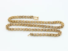 Load image into Gallery viewer, Victorian 14K Gold Yellow Gold Fancy Link Chain Necklace