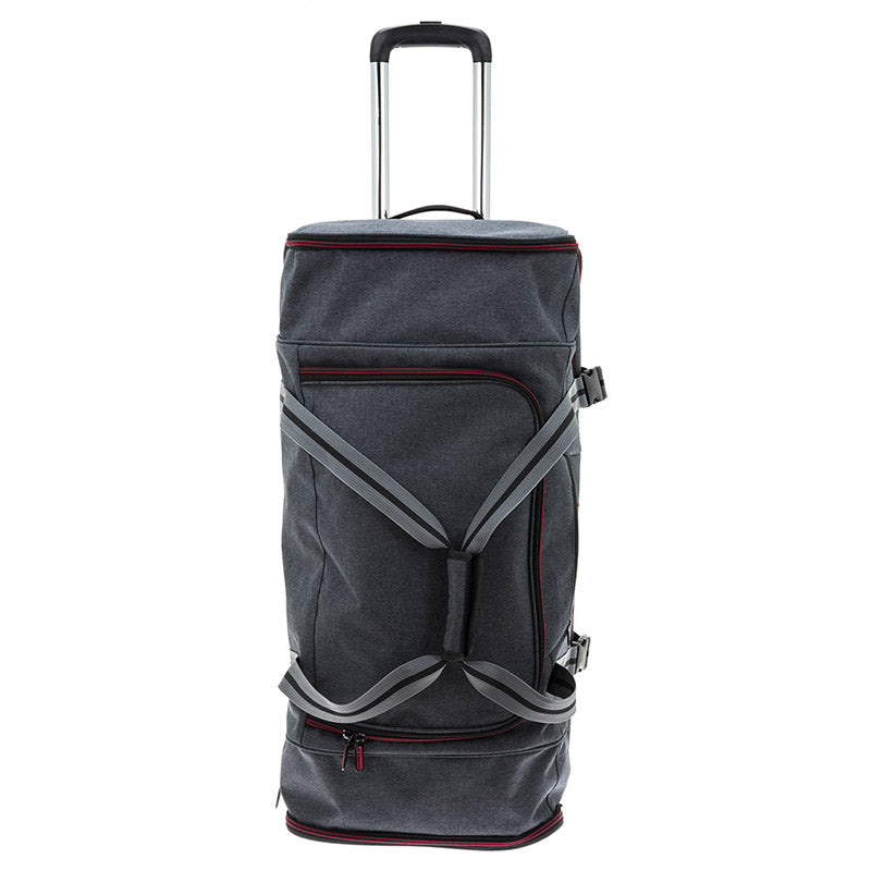TRAVEL IN GREY 75cm Charter Bag