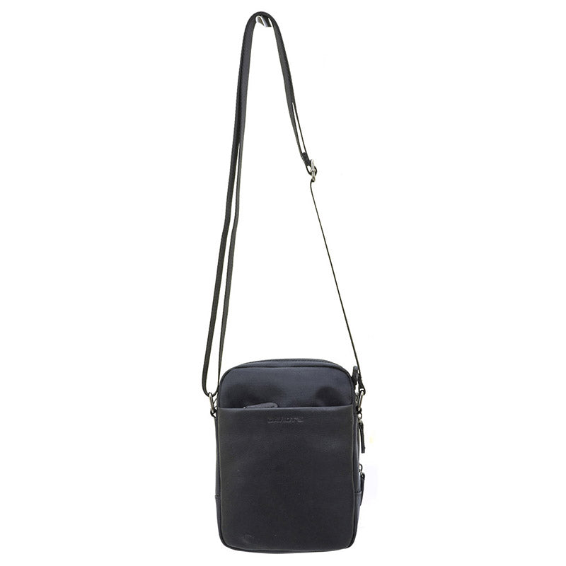LEATHER & TEXTILE Crossbody Bag