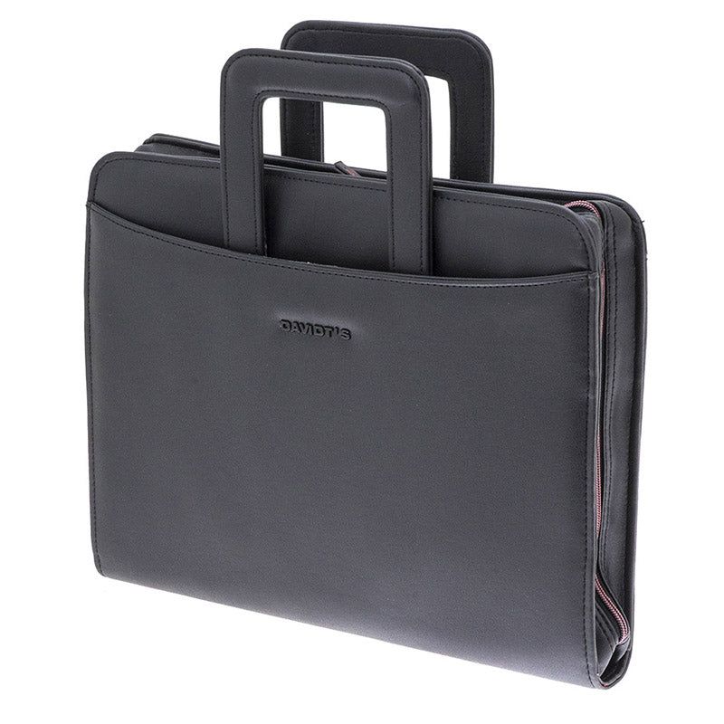 ORAN Synthetic Conference Folder with Retractable Handles