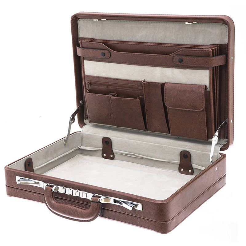 PONDICHERY Attache-case Synthetic Expandable