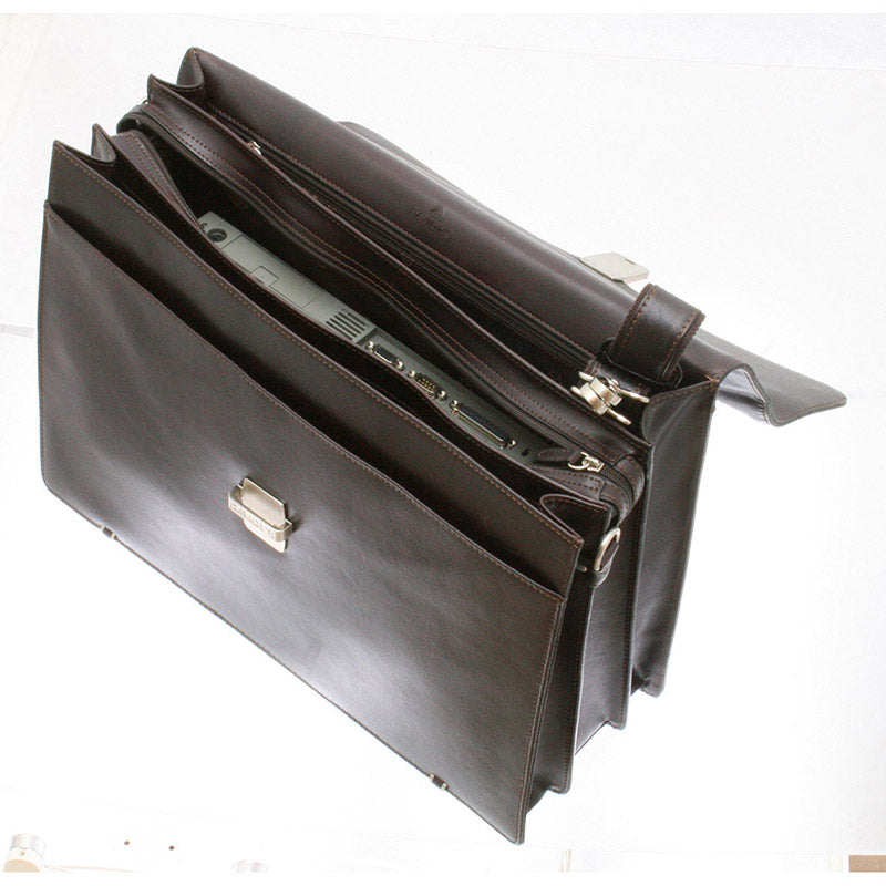 YALE Briefcase 3 Compart. 44cm