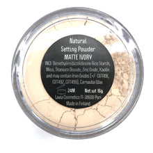 Load image into Gallery viewer, Natural Setting Powder - kiinnityspuuteri Matte Ivory