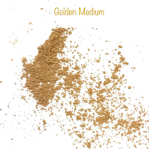 Pure Mineral Foundation Golden Medium - Mineraalimeikkipuuteri