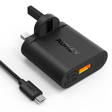 Load image into Gallery viewer, PA-T9 1 Port Quick Charge 3.0 Wall Charger