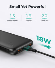 Load image into Gallery viewer, PB-N73S 10000mAH 18W Ultra Thin Portable Charger 3-Port USB-C PD  Fast Charge