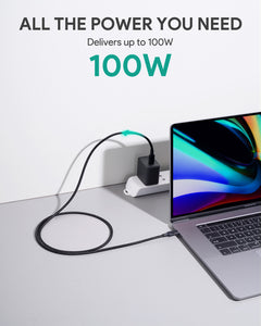 CB-CD21 100W Gen2 E-Marker PD USB 3.1 USB C to C Cable 1.2M