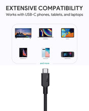 Load image into Gallery viewer, CB-CD21 100W Gen2 E-Marker PD USB 3.1 USB C to C Cable 1.2M