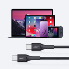 Load image into Gallery viewer, CB-AKC4 2M Kevlar Core USB-C to C Cable For Compatible Macbook, iPad, Nintendo switch