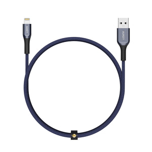 CB-AKL1 MFI USB A To Lightning Kevlar Cable - 1.2M