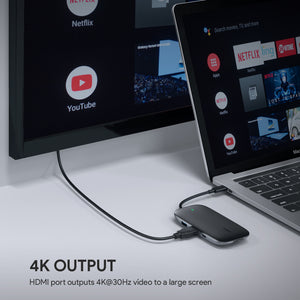 CB-C71 8-in-1 USB-C Hub 60W Power Delivery