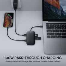 Load image into Gallery viewer, CB-C71 8-in-1 USB-C Hub 60W Power Delivery