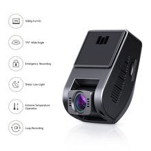 Load image into Gallery viewer, DR02 1080p Dash Cam with 6-Lane 170° Wide-Angle Lens, Dash Cam