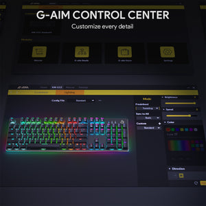 KM-G12 Gaming Mechanical Keyboard - Red Switches
