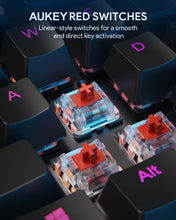 Load image into Gallery viewer, KM-G12 Gaming Mechanical Keyboard - Red Switches