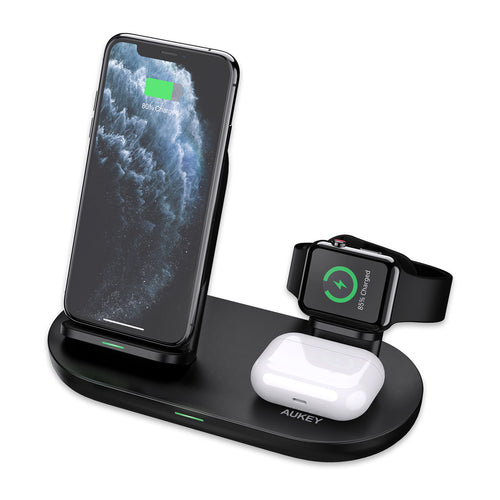 LC-A3 Aircore Series 3 in 1 Wireless Charging Station