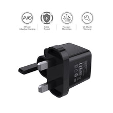 Load image into Gallery viewer, PA-U32 2 PORT 4.8A Wall Charger