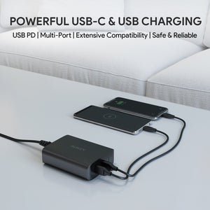PA-Y12 3 Port Power Delivery Charging Hub