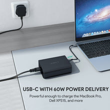 Load image into Gallery viewer, PA-Y12 3 Port Power Delivery Charging Hub