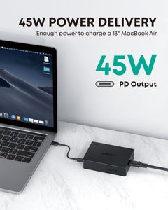 PA-Y23 USB-C 63W 5-Port Fast Charge PD Universal Charging Port Station