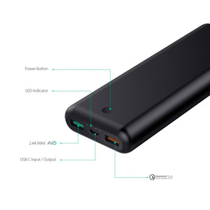 PB-XD20 20,100mAh Power Delivery and Quick Charge 3.0 Powerbank