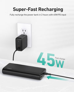 PB-Y37 20,000mAh 65W PD Powerbank Fast Charge