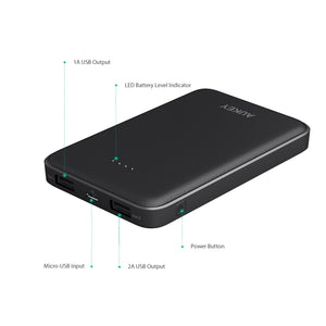 PB-N50 10,000mAh Dual Port Compact Powerbank