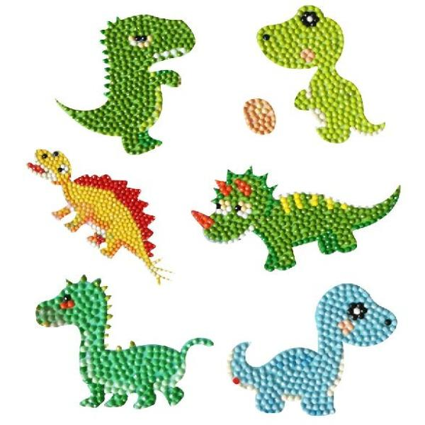 Diamond Painting Sticker - Dinosaurier