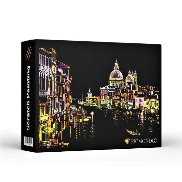 Scratch Painting Set von Venedig in Italien
