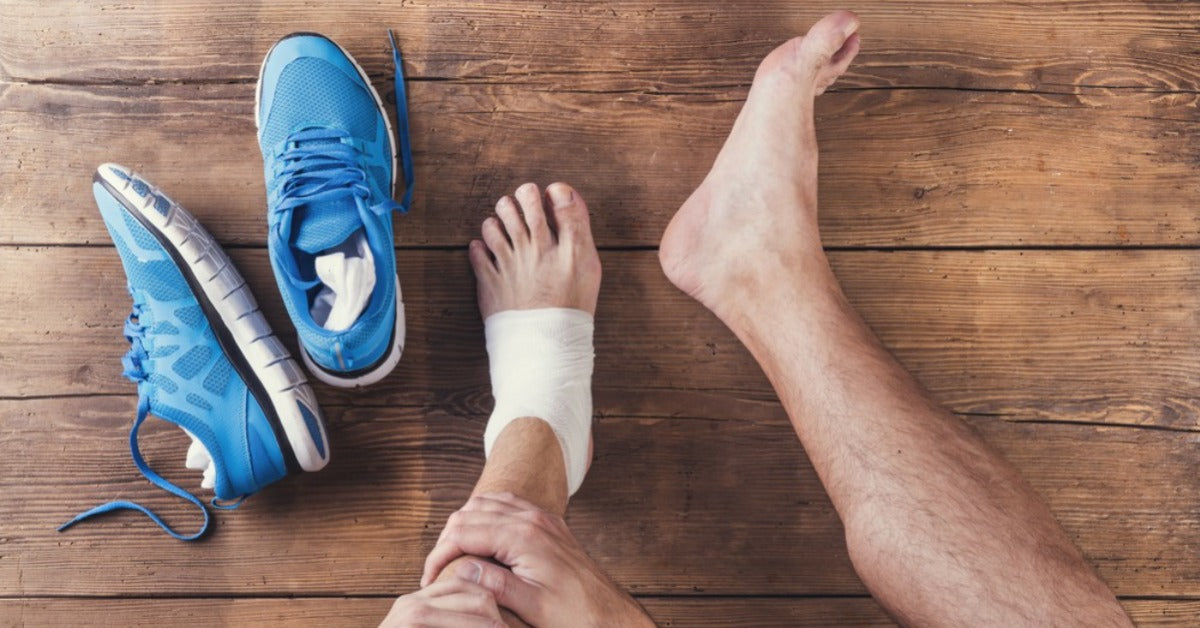 Fastest Way to Heal a Torn Ankle Ligament? Three tips!