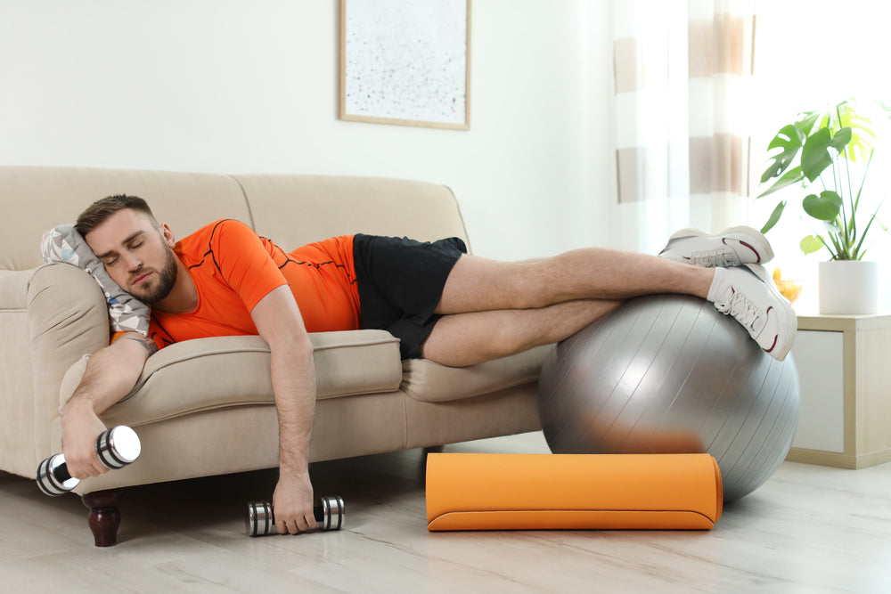 The Lazy Persons Guide to Exercising at Home