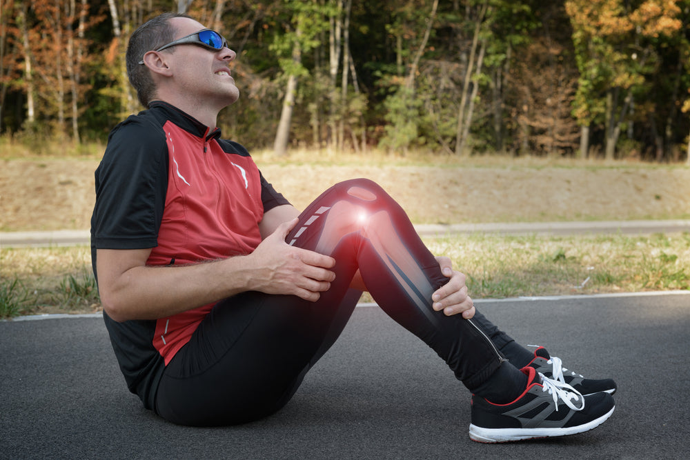 Runner with a sore knee: Definitive Guide to Knee Supports