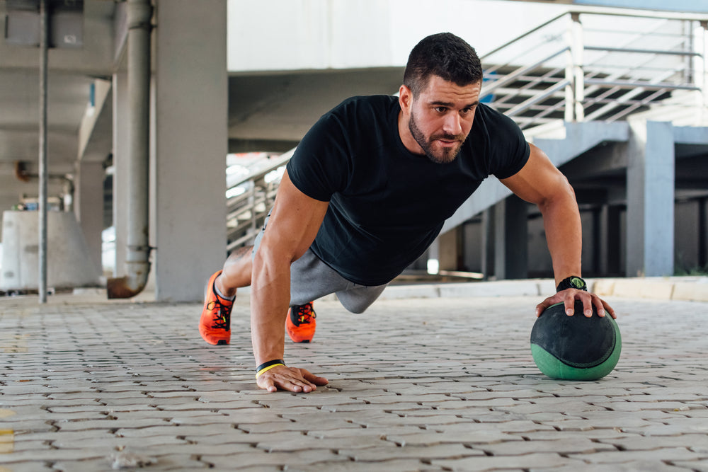 Unstable push-up